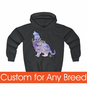Matching Dog and Owner - Galaxy Dogs - Youth Hoodies - Youth