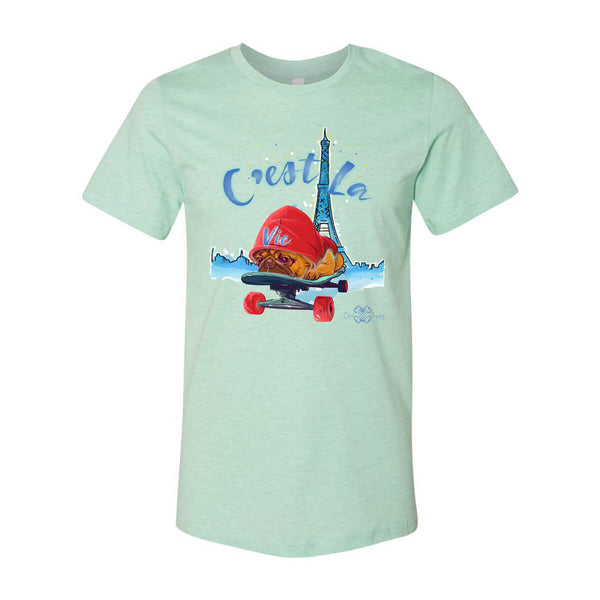 Matching Dog and Owner - C'est La Vie! - Men Shirts - Men