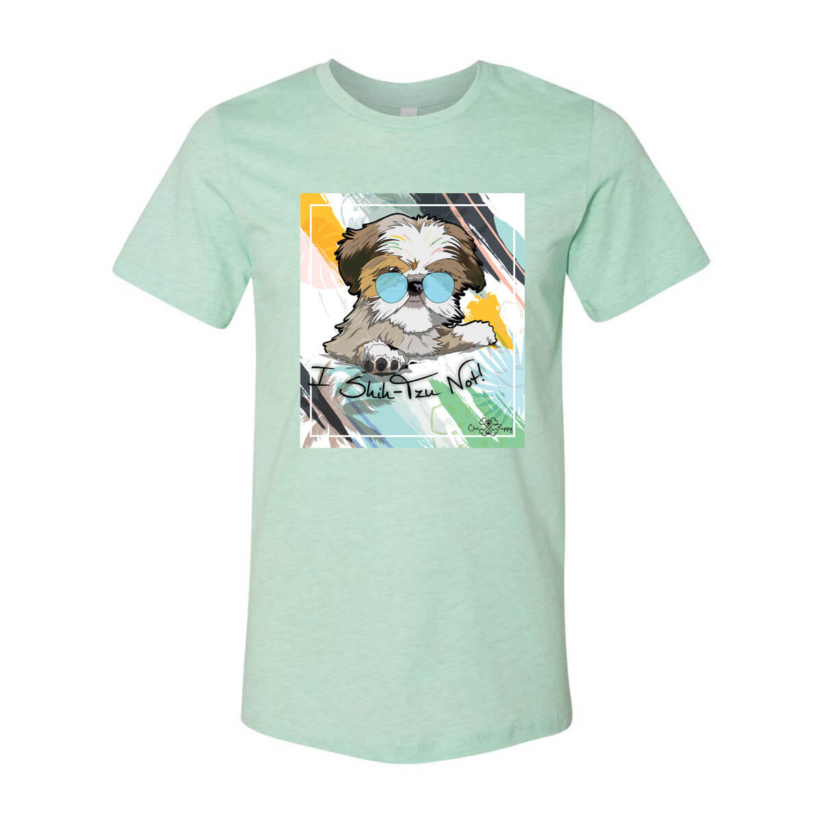 Matching Dog and Owner - I Shih-Tzu Not! - Youth Shirts - Youth