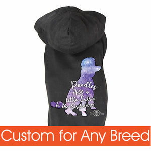 Matching Dog and Owner - Galaxy Dogs - Dog Shirts & Hoodies - Dogs