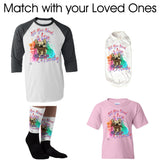 Matching Dog and Owner - All You Need is Love &... *Any Breed   Socks - Women