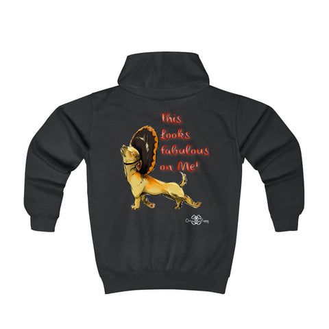Matching Dog and Owner - This Looks Fabulous on Me! - Youth Hoodies - Youth