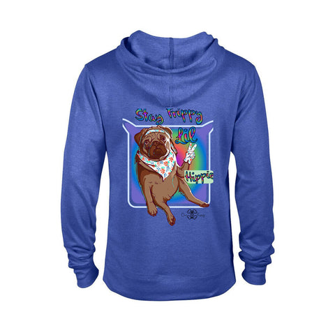 Matching Dog and Owner - Stay Trippy Lil Hippie - Youth Hoodies - Youth