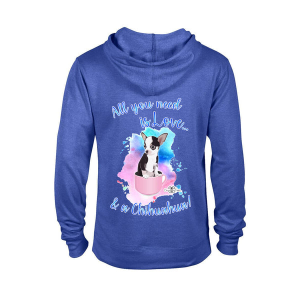Matching Dog and Owner - All you need is Love & a Chihuahua - Women Hoodies - Women