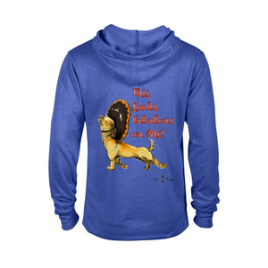Matching Dog and Owner - This Looks Fabulous on Me! - Men Hoodies - Men