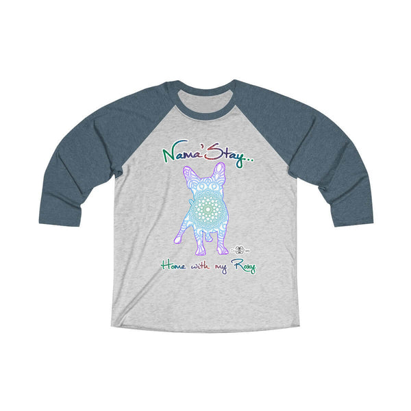 Matching Dog and Owner - Mandala Pups Silhouette - Women Raglans - Women