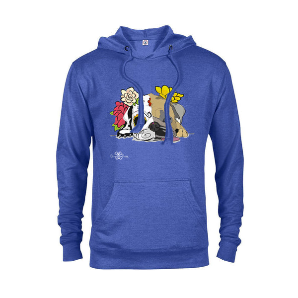 Matching Dog and Owner - Dia De Los Muertos Pug - Men Hoodies - Men