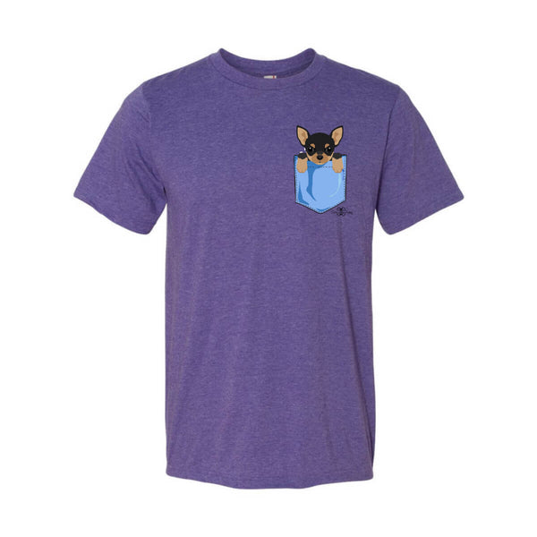Matching Dog and Owner - Puppy Pocket - Youth Shirts - Youth