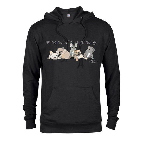 Matching Dog and Owner - F.R.E.N.C.H.I.E.S Sitcom - Women Hoodies - Women