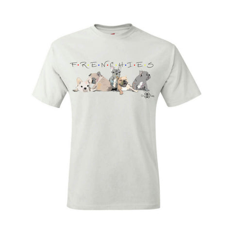 Matching Dog and Owner - F.R.E.N.C.H.I.E.S. Sitcom - Men Shirts - Men