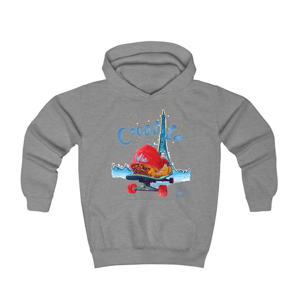 Matching Dog and Owner - C'est La Vie! - Youth Hoodies - Youth