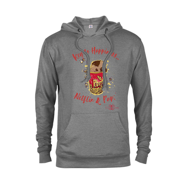 Matching Dog and Owner - Key to Happiness: Netflik & Pups! - Women Hoodies - Women