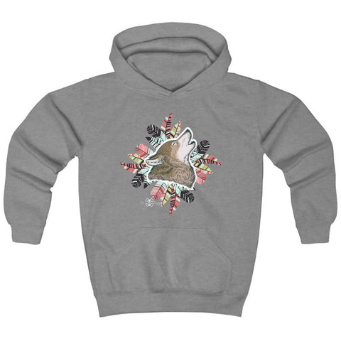 Matching Dog and Owner - Husky Pride Dreamcatcher - Youth Hoodies - Youth