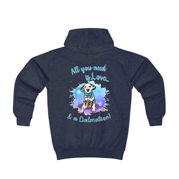 Matching Dog and Owner - All you need is Love - Youth Hoodies - Youth
