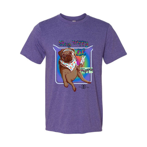 Matching Dog and Owner - Stay Trippy Lil Hippie - Men Shirts - Men
