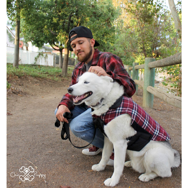 Matching Dog and Owner - The Lumber-Dog Jacket - Dogs