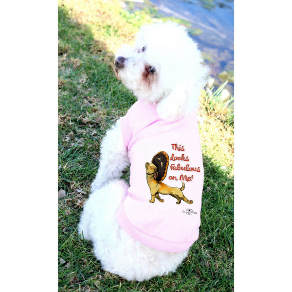 Matching Dog and Owner - This Looks Fabulous on Me! - Dog Shirts & Hoodies - Dogs