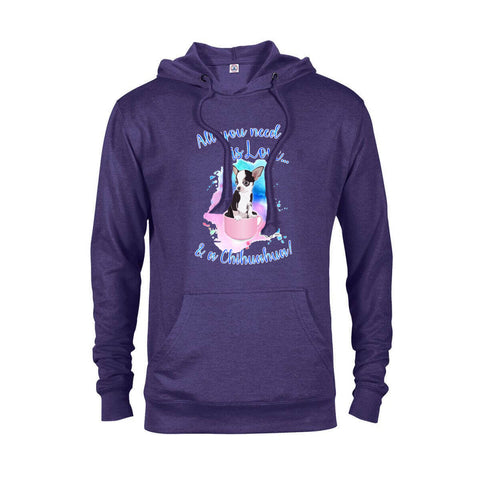 Matching Dog and Owner - All you need is Love & a Chihuahua - Youth Hoodies - Youth