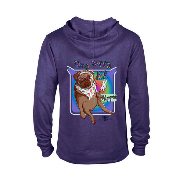 Matching Dog and Owner - Stay Trippy Lil Hippie - Women Hoodies - Women