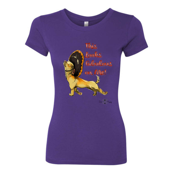 Matching Dog and Owner - This Looks Fabulous on Me! - Women Shirts - Women