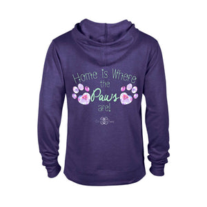Matching Dog and Owner - Home is Where the Paws Are! - Men Hoodies - Men