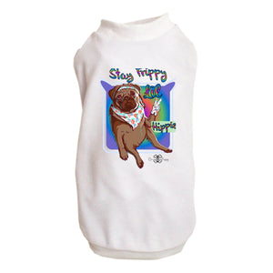 Matching Dog and Owner - Stay Trippy Lil Hippie - Dog Shirts & Hoodies - Dogs