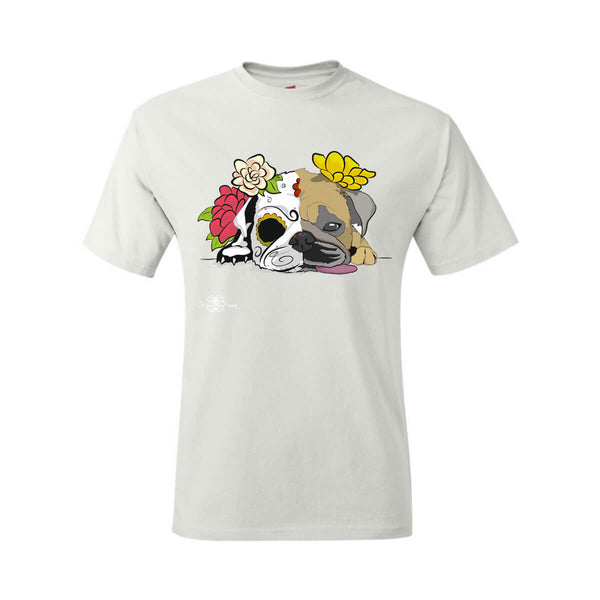 Matching Dog and Owner - Dia De Los Muertos Pug - Men Shirts - Men