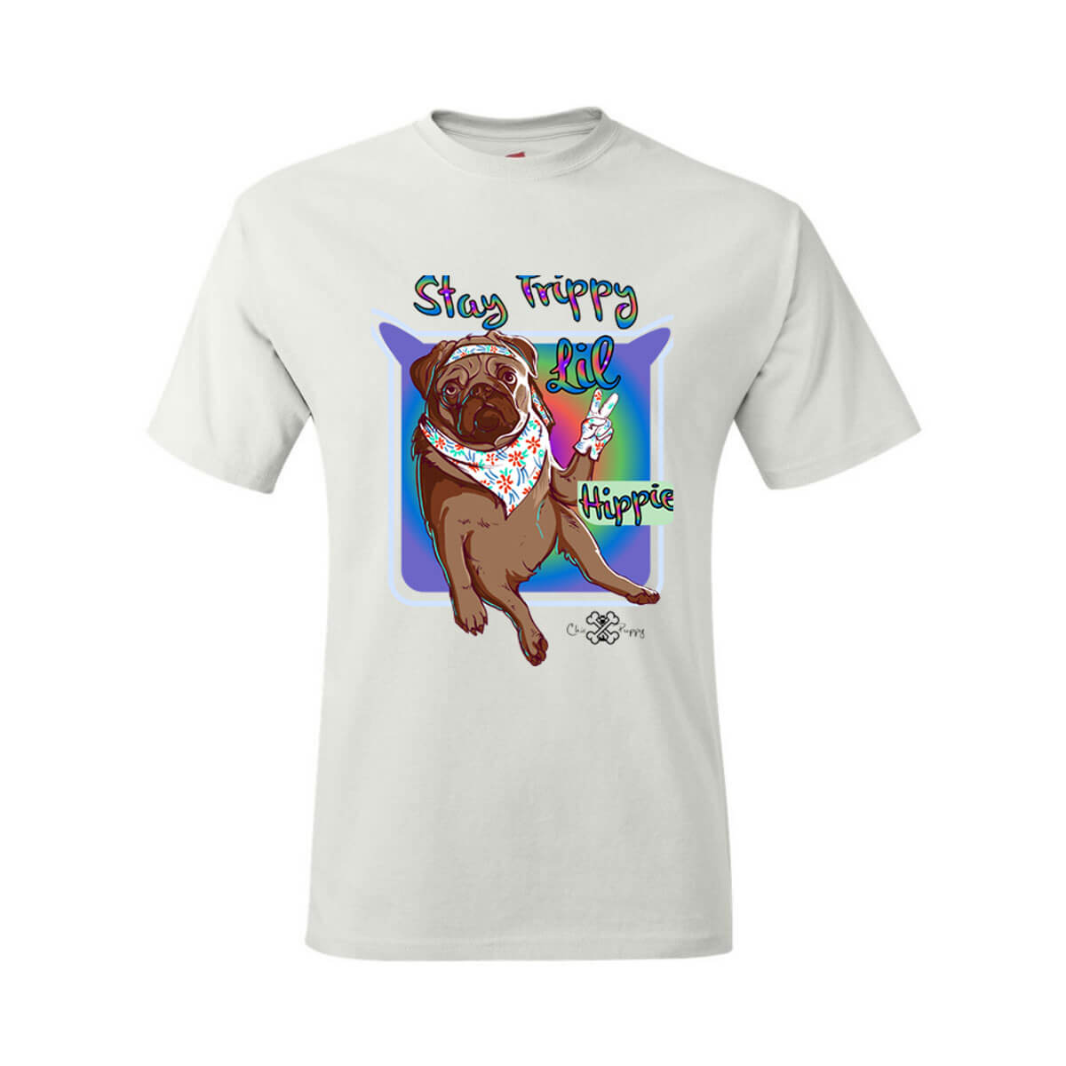 Matching Dog and Owner - Stay Trippy Lil Hippie - Youth Shirts - Youth