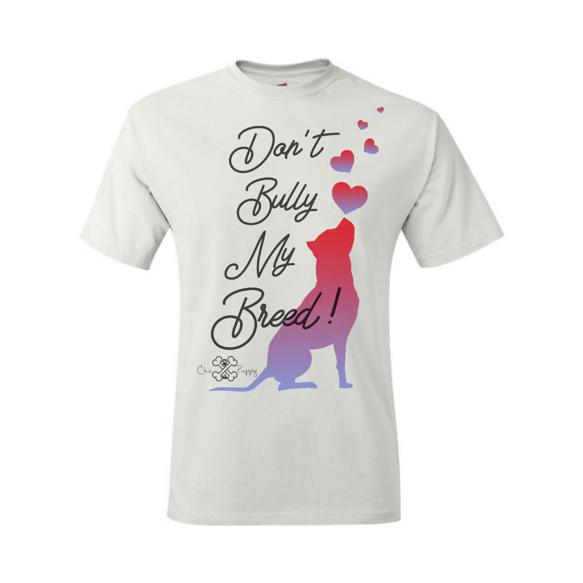 Matching Dog and Owner - Don't Bully My Breed! - Men Shirts - Men
