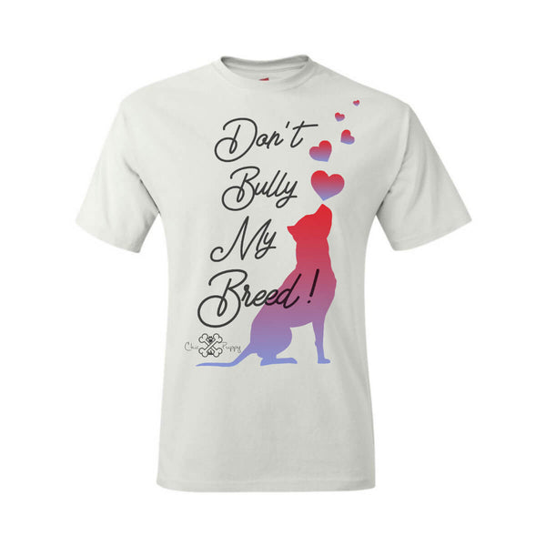 Matching Dog and Owner - Don't Bully My Breed! - Youth Shirts - Youth
