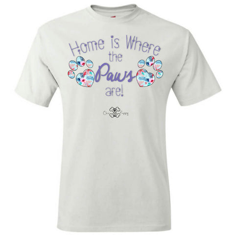 Matching Dog and Owner - Home is Where the Paws Are! - Men Shirts - Men