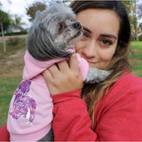 Matching Dog and Owner - YORKIES ADD A LITTLE EXTRA.. GALAXY SILHOUETTE - Dog Shirts & Hoodies - Dogs