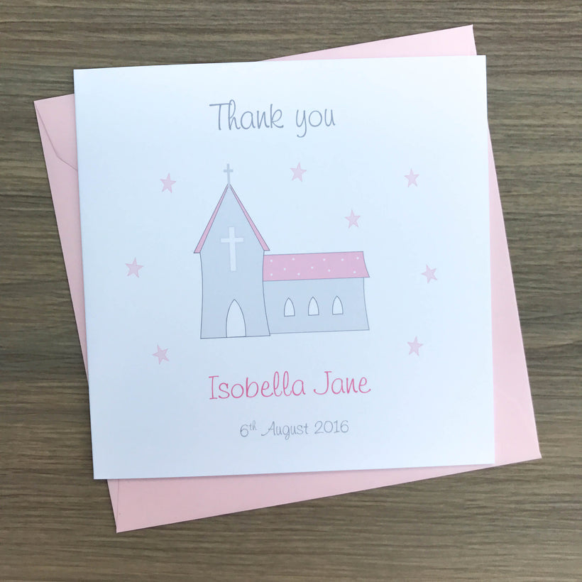 Christening Thank you Cards