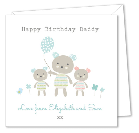 Personalised Birthday Card – Grandad, Grandpa, Dad