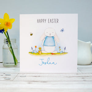 Personalised Easter Card - Personalised Boys Easter Card - Grandson, Son, Nephew