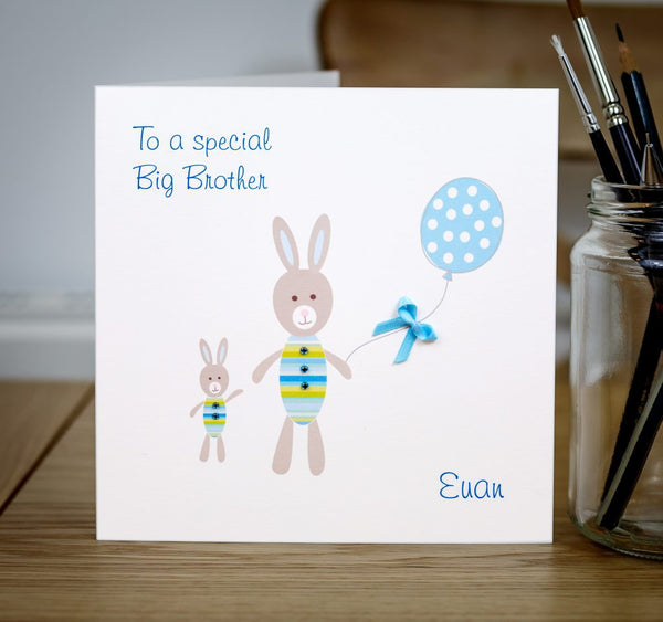 Personalised New Big Brother Card