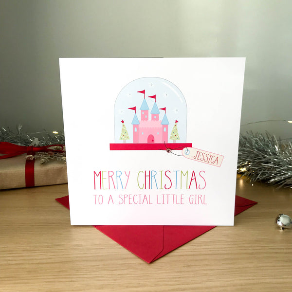 Princess Christmas Card