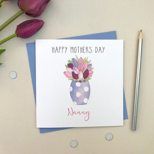 Personalised Mother's Day card - Nanny, Granny, Mam, Grandma