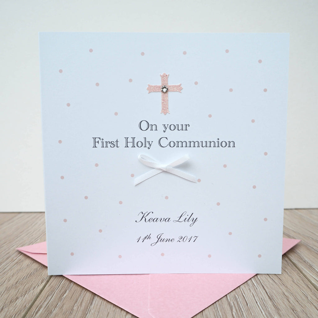 Personalised Holy Communion Card