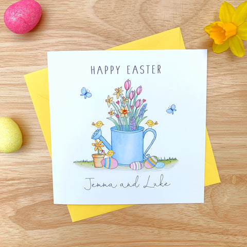 Personalised Easter Card - Flowers