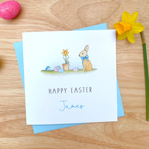 Personalised Easter Card