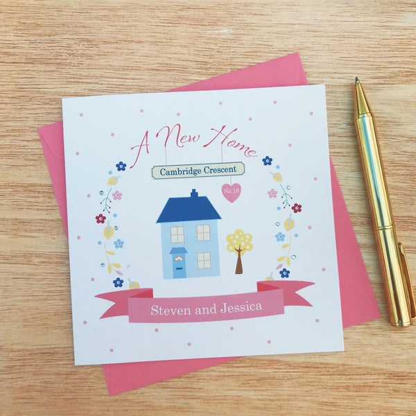 Personalised New Home Card- Moving Home Card