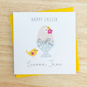 Handmade Personalised Easter Card