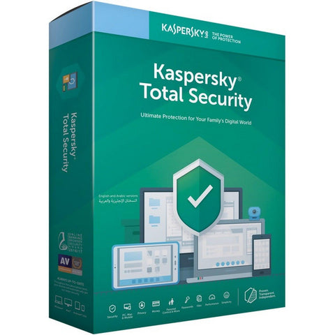 Kaspersky Total Security 2020 - Instant-licence