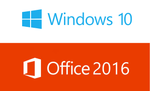 Windows 10 Pro + Office 2016 Pro Plus Bundle - Instant-licence