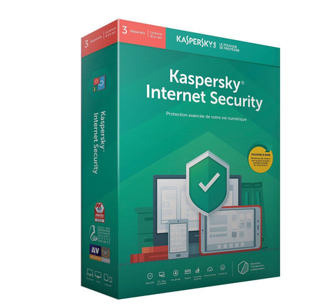 Kaspersky Internet Security 2020 - Instant-licence