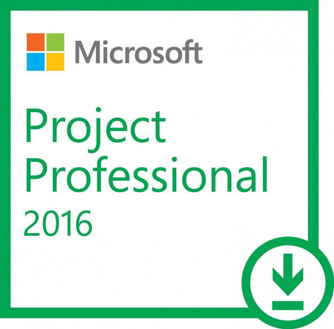 Microsoft Project 2016 Pro - Instant-licence