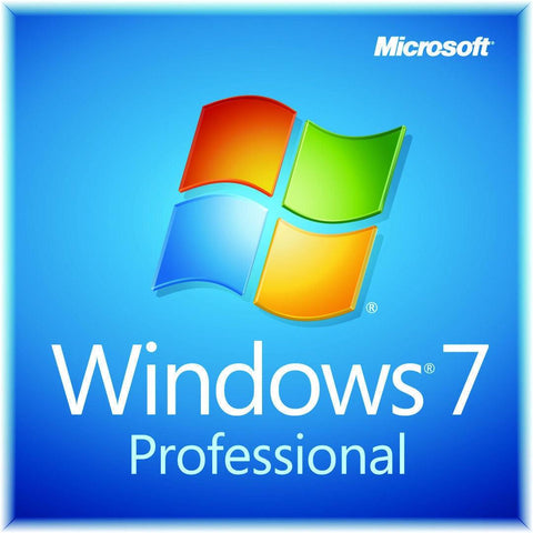 Windows 7 Pro - Instant-licence