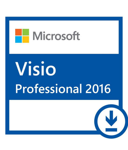 Microsoft Visio 2016 Pro - Instant-licence