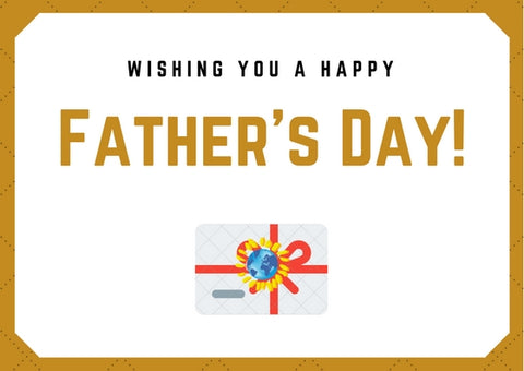 Father's Day Gift Card - Mondosol shop
